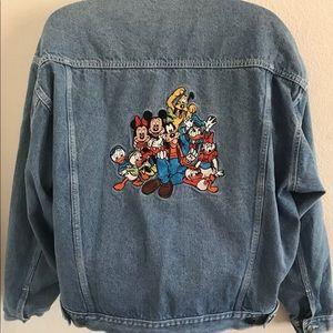 Vintage Disney Mickey & Friends Denim Jacket sz M
